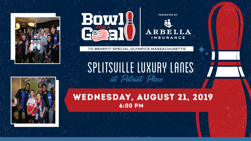"""Revs announce fifth annual """"Bowl for a Goal"""" presented by Arbella Insurance for August 21 - https://newengland-mp7static.mlsdigital.net/images/BowlforaGoalHDBoards1920x1080_DL.jpg"""