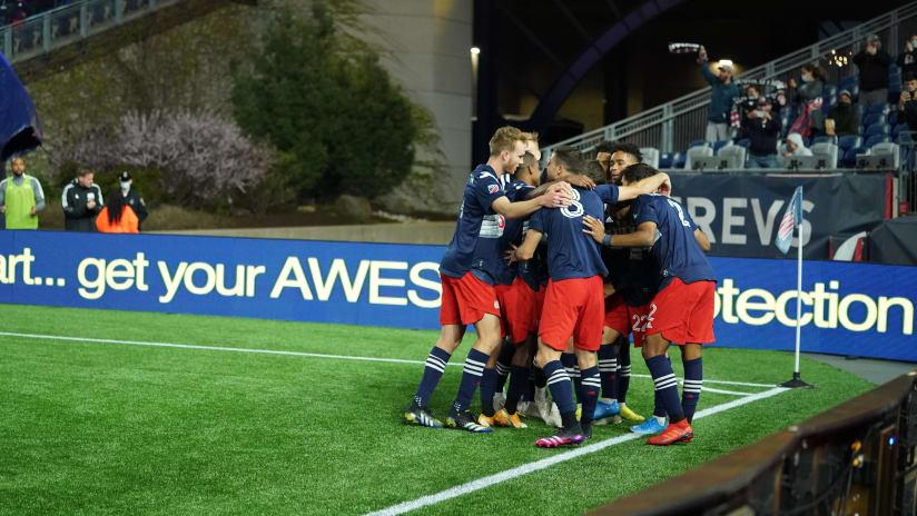 Team goal celebration (2021)