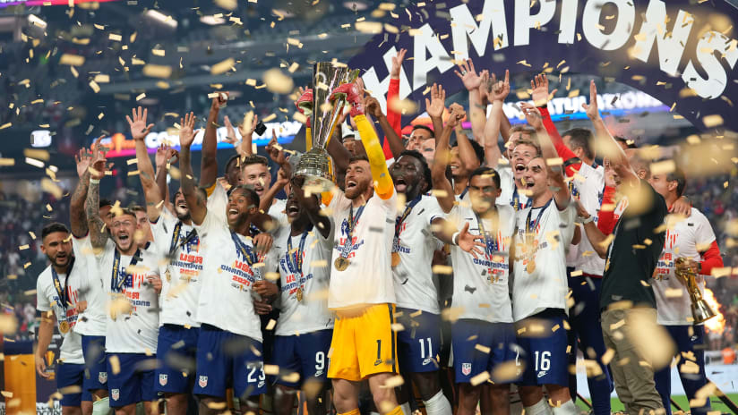 Turner shuts out Mexico to lead USMNT to Gold Cup glory; named tournament's Best Goalkeeper