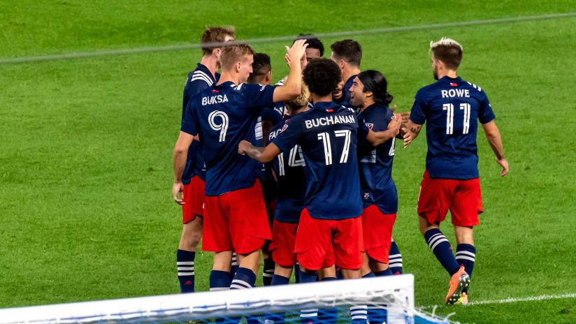 Group goal celebration vs. New York City FC (2020, Original)