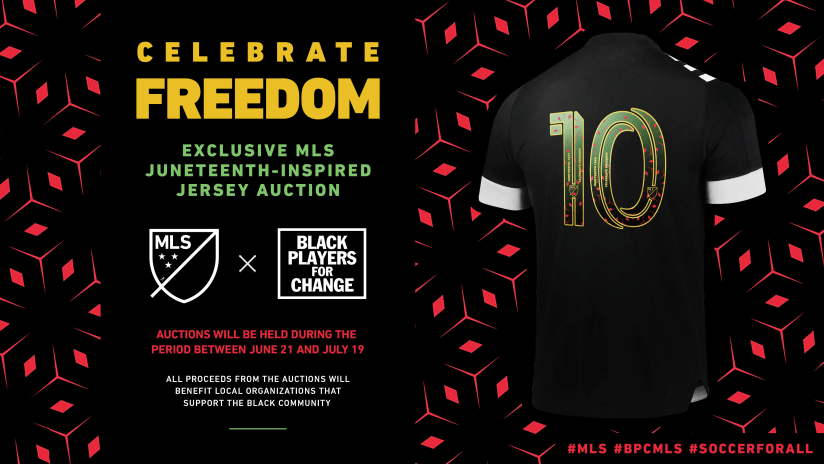 Celebrate Freedom | Juneteenth jersey auction