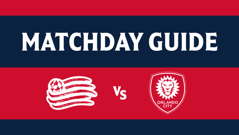 MATCHDAY GUIDE | Everything you need to know ahead of Revs vs. Orlando (September 25, 2021)