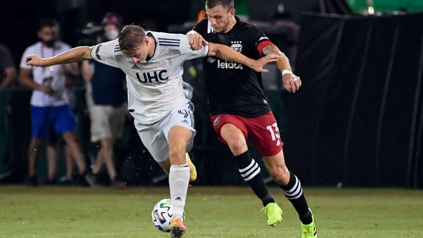 Adam Buksa vs. D.C. United | MLS is Back (Colonial, 2020)