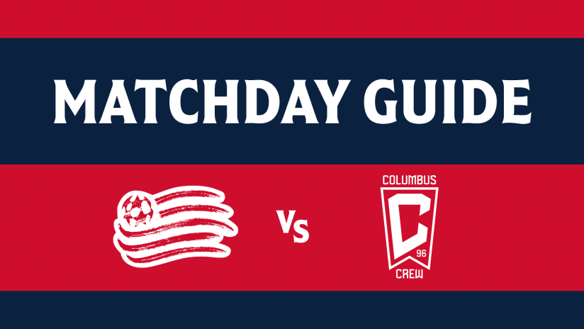 MATCHDAY GUIDE | Everything you need to know ahead of Revs vs. Crew (September 18, 2021)