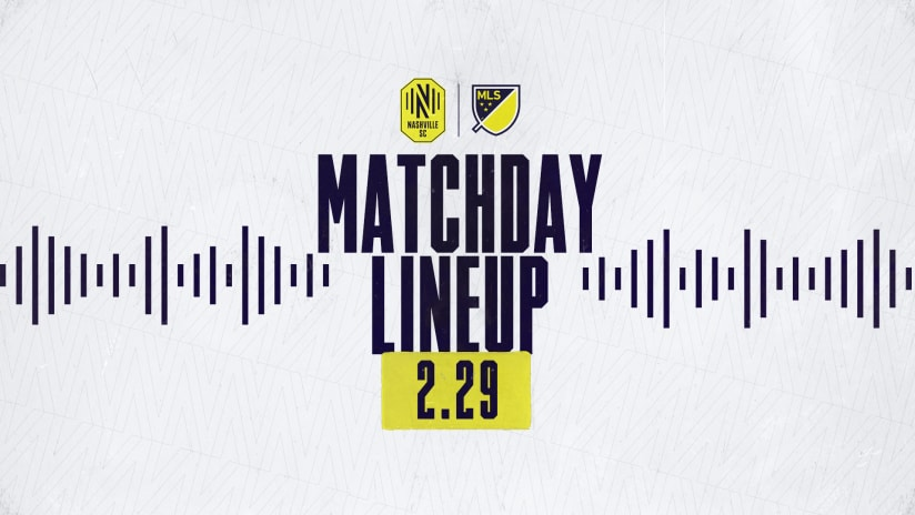 Matchday Lineup 2.29 Simple