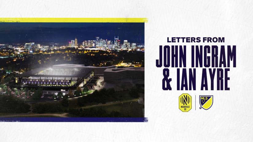 Letters from John Ingram and Ian Ayre