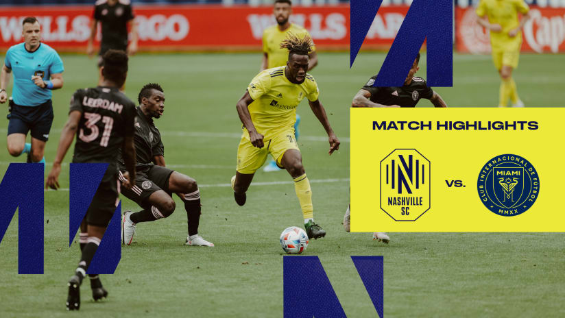 HIGHLIGHTS: Nashville SC 0 - 0 Inter Miami CF