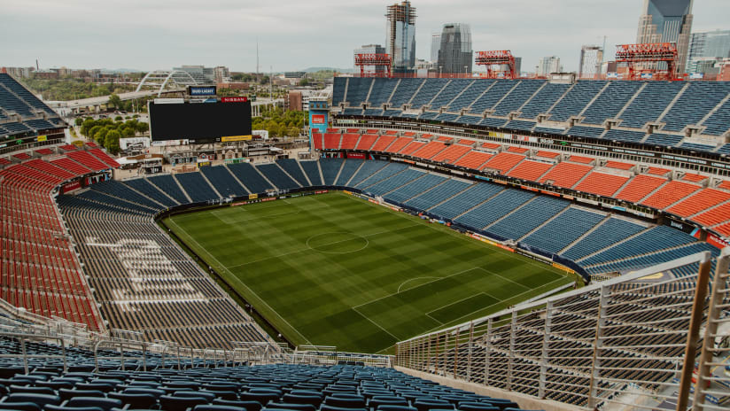 Nashville Soccer Club Set to Open Nissan Stadium at Near Full Capacity on May 23 on National Television
