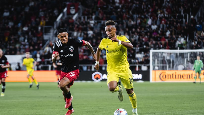 Nashville SC Draws in the District and Remains Second in Eastern Conference