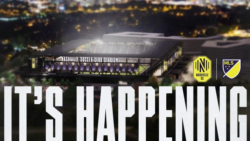 MLS Stadium Announcement