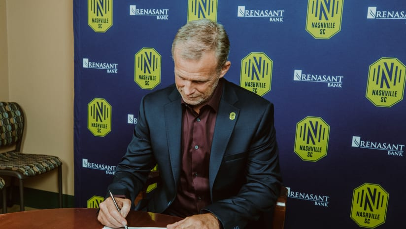 Gary Smith ready to 'move into the future' with Nashville SC
