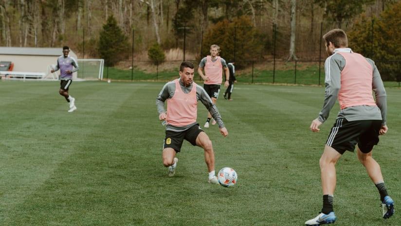Dan Lovitz Training 3.18.21