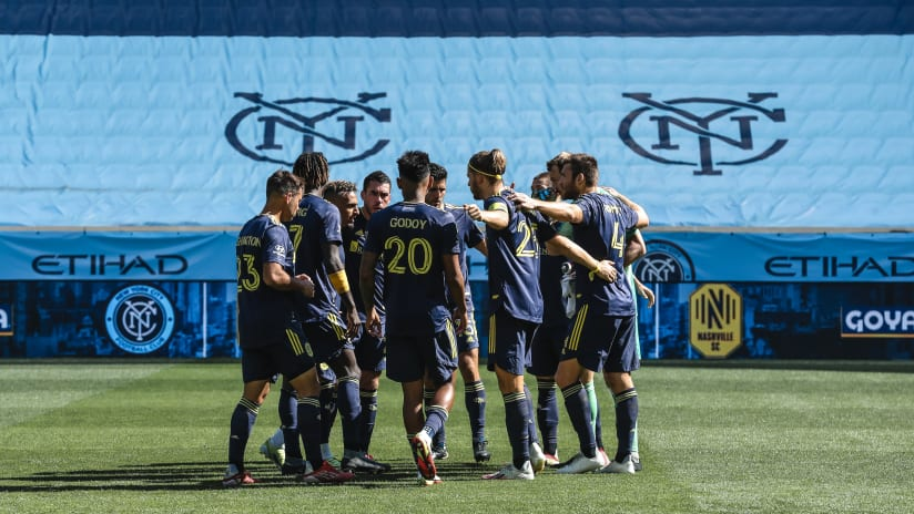 Nashville SC Secure Another Road Point and Remain in Second in the Eastern Conference