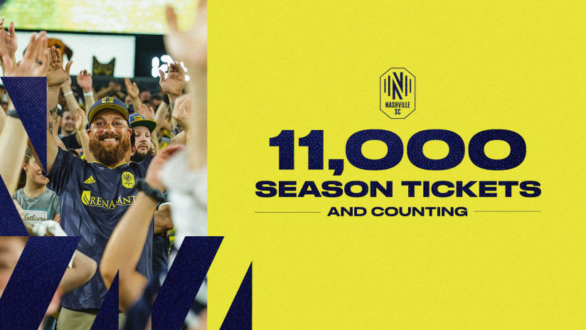 11,000 and Counting: Meet Nashville SC's Season Ticket Members