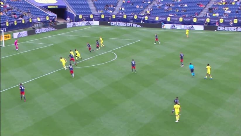 Nsight: Breaking Down CJ Sapong's Goal in Nashville SC's First Win of the Season