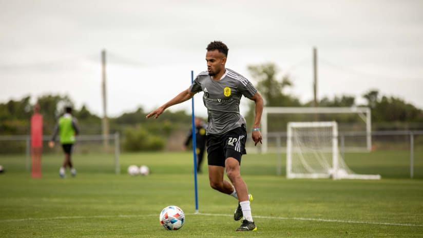 Handwalla Bwana Ready To Add A Spark in First Full Season with Nashville SC