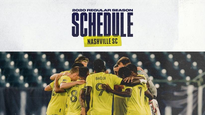 Regular Season Schedule (phase 3)