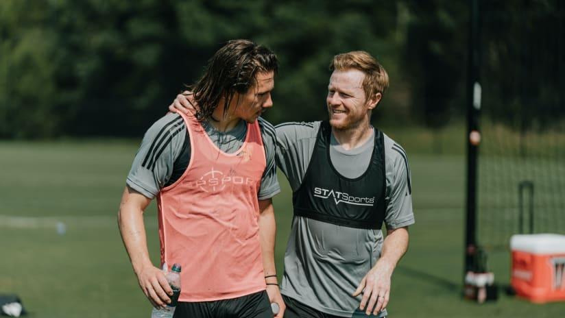 Alex Muyl and Dax McCarty Training, 8.20.20