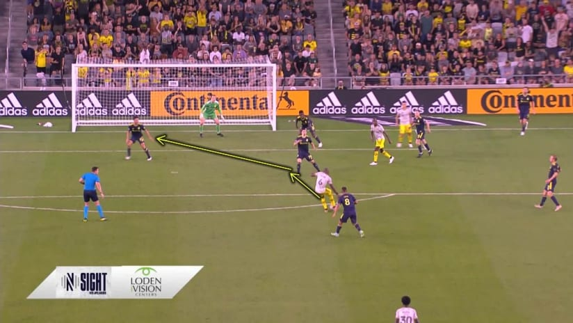 Nsight: Joe Willis keeps a clean sheet against Columbus Crew with quick reflexes