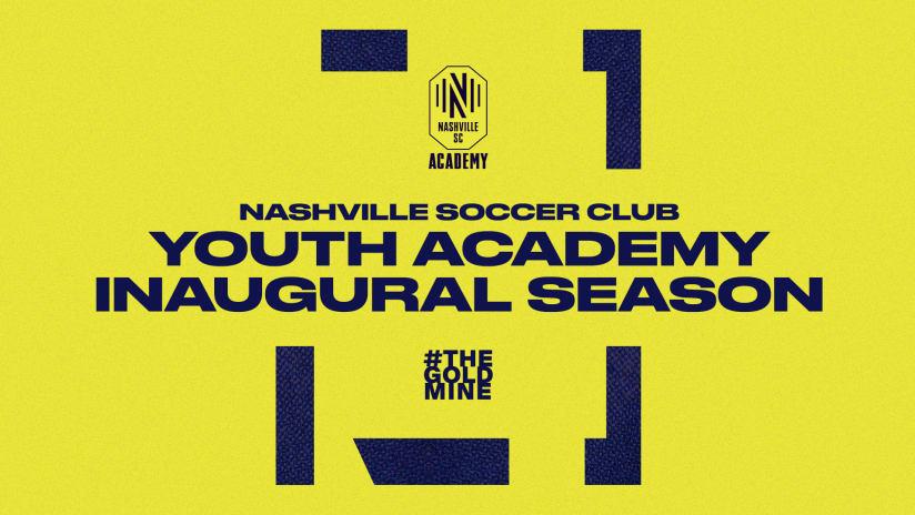 Nashville Soccer Club Youth Academy Set to Begin Inaugural Season