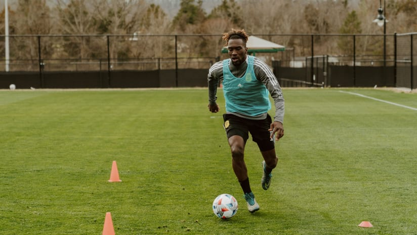 CJ Sapong Training, 3.5.21