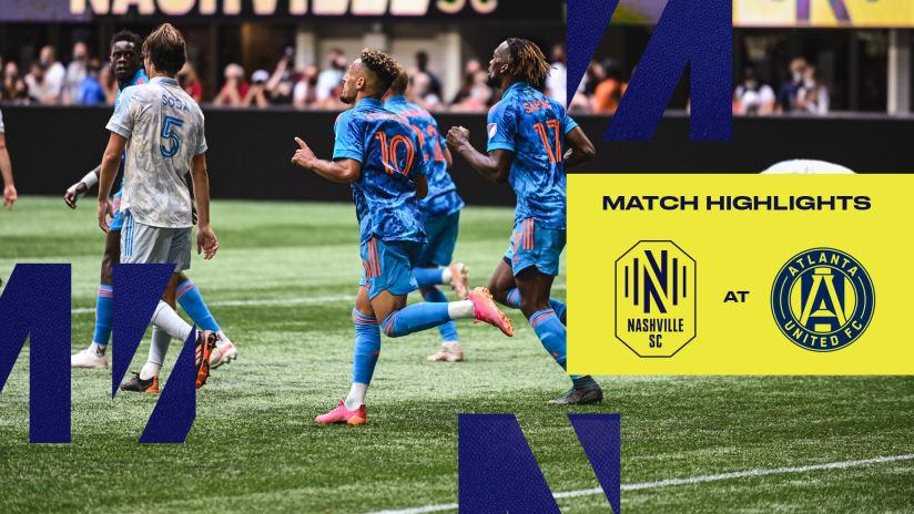 HIGHLIGHTS: Atlanta United FC 2 - 2 Nashville SC