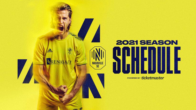 2021 Season Schedule Announcement