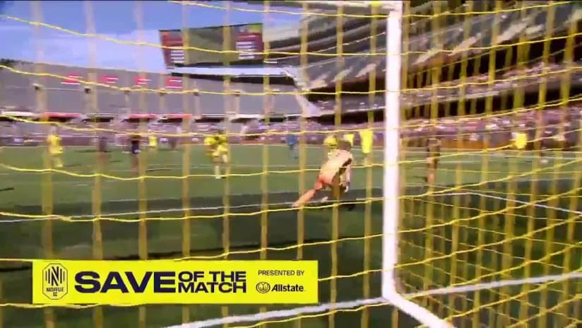 Save of the Match pres. by Allstate: at Chicago Fire FC