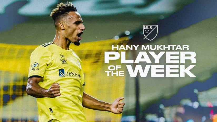Nashville SC Midfielder Hany Mukhtar Voted MLS Player of the Week for Week 23