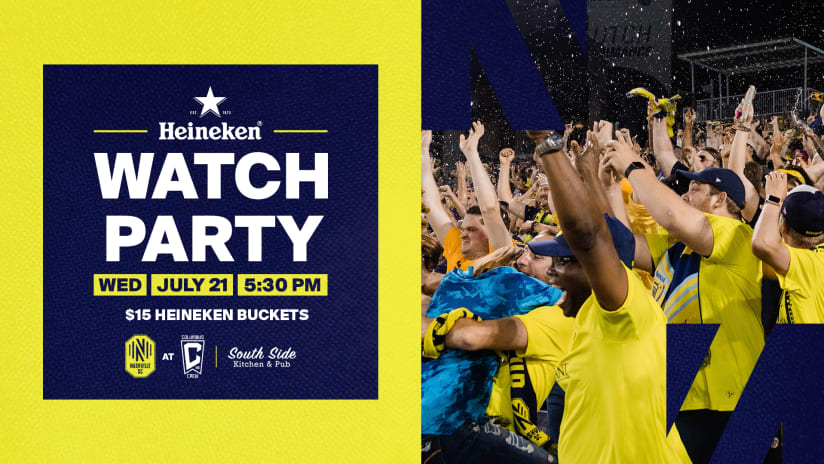 Don't Miss the Action at Nashville's SC Watch Party This Wednesday