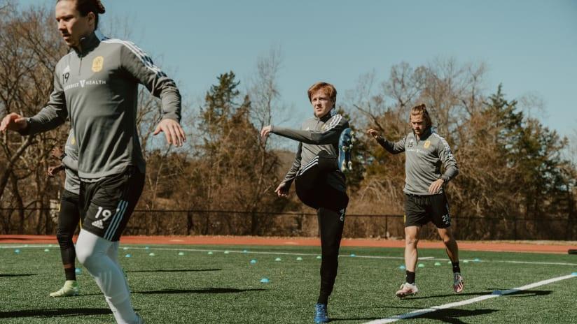 Dax McCarty Training 3.3.21