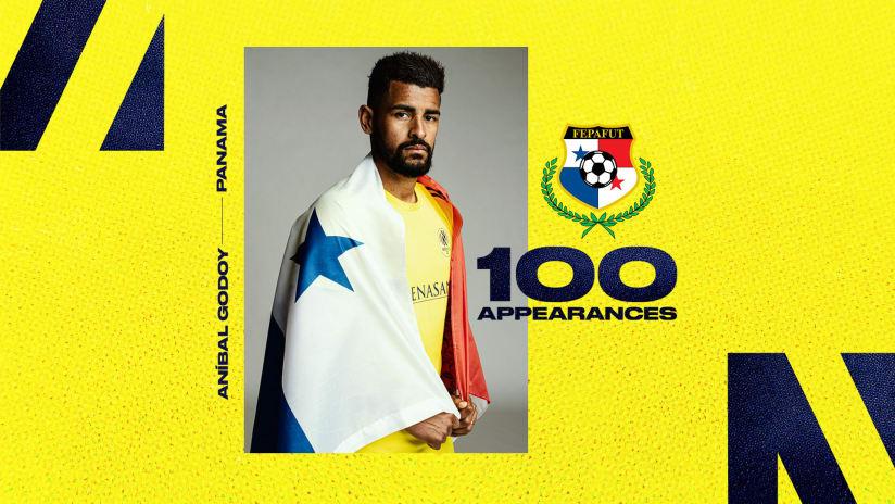 Aníbal Godoy Earns 100th Appearance for Panamanian National Team