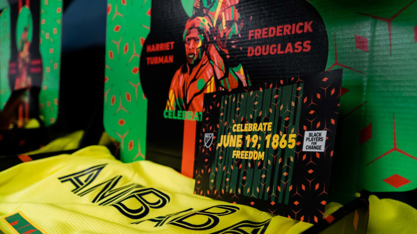 MLS and BPC Celebrate Freedom on Juneteenth with Limited-Edition Jerseys Auctioned to Benefit Black Communities
