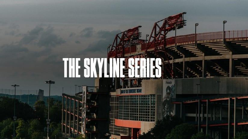 The Skyline Series: Downtown Nashville - The Skyline Series