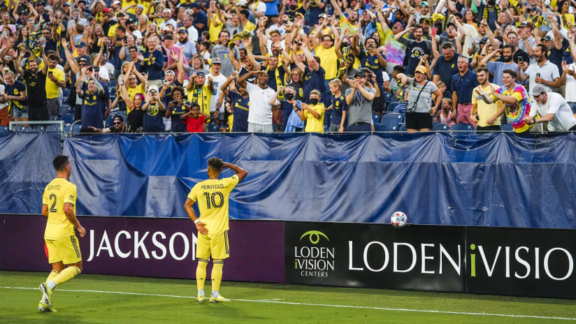 Mukhtar Magic: Hany's historic hat trick leads Nashville SC to crucial home victory