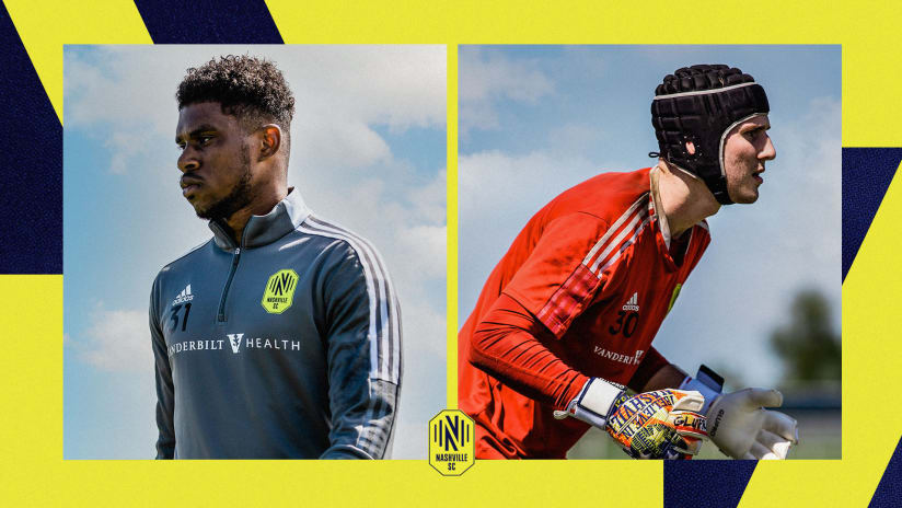 Nashville SC Loans Goalkeeper Elliot Panicco and Defender Nick Hinds to Austin Bold FC