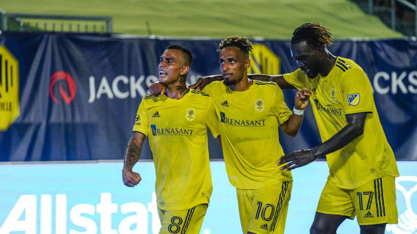 'Perfect Little Trio' Sapong, Mukhtar and Leal lead Nashville SC attack in July