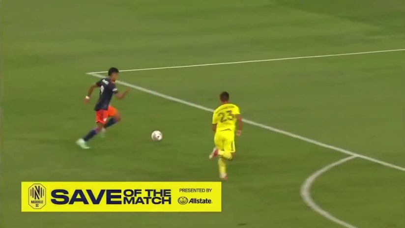 Save of the Match pres. by Allstate: Nashville SC vs Columbus Crew