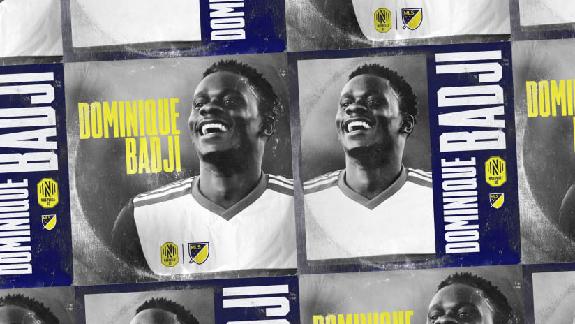 Dominique Badji Welcome Graphic