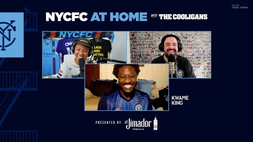 At Home with the Cooligans and Kwame