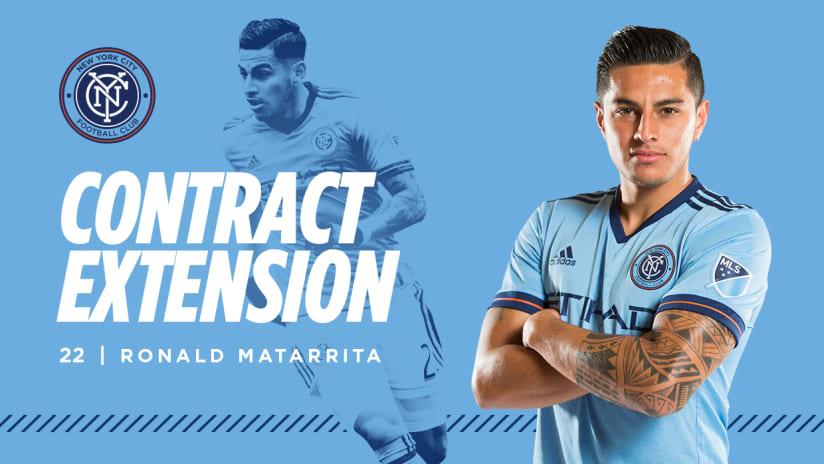 Matarrita contract extension