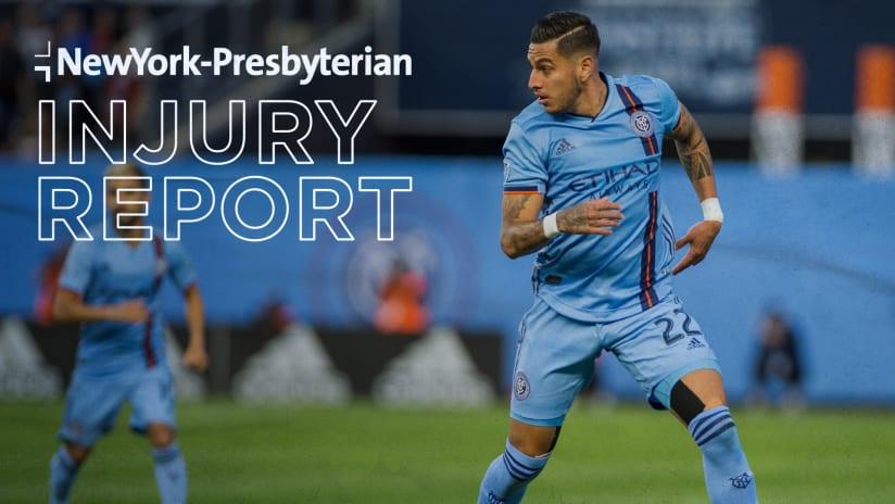 Injury Report Ronald Matarrita