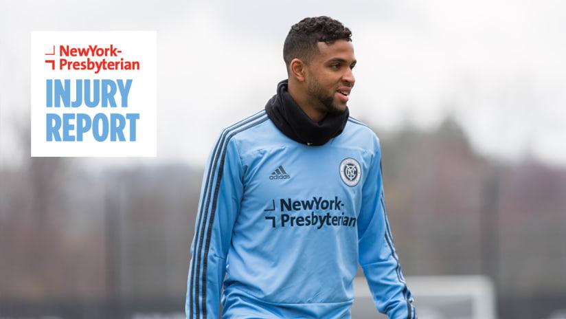 Injury Report Ismael