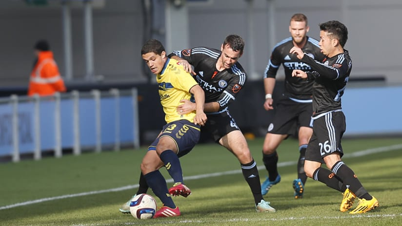 Andrew Jacobson vs. Brondby
