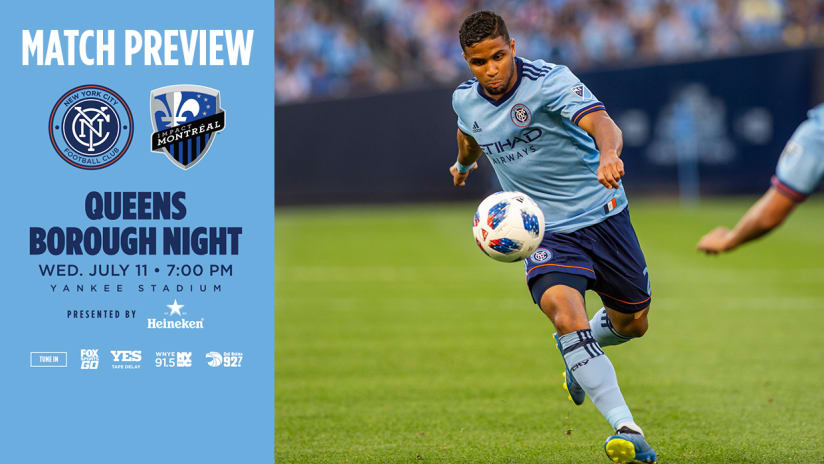 Match Preview - NYCFC vs Montreal