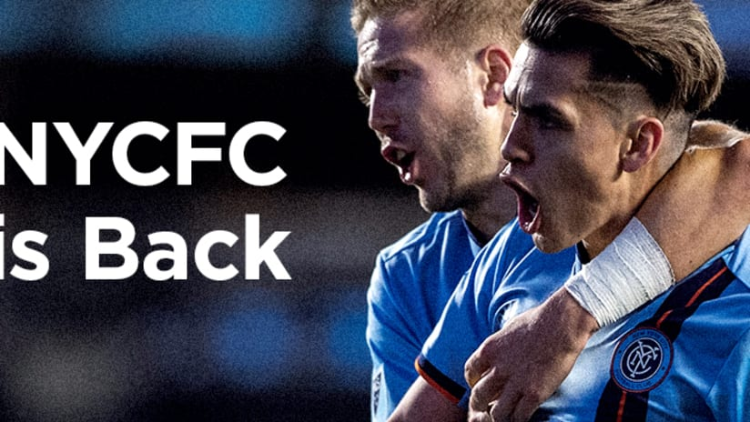 NYCFC is Back