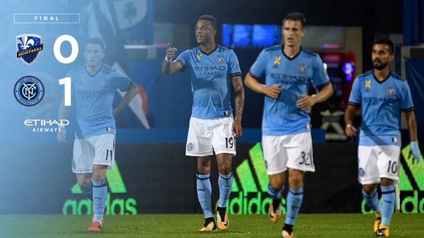 Match Recap Montreal Away