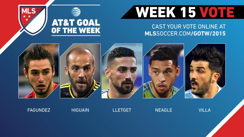 MLS Goal of the Week (Week 15)