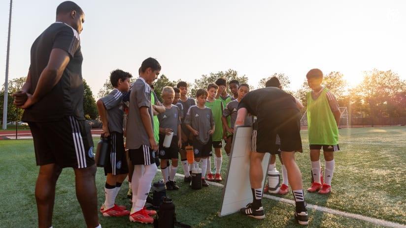 Photos | Boys Academy Training