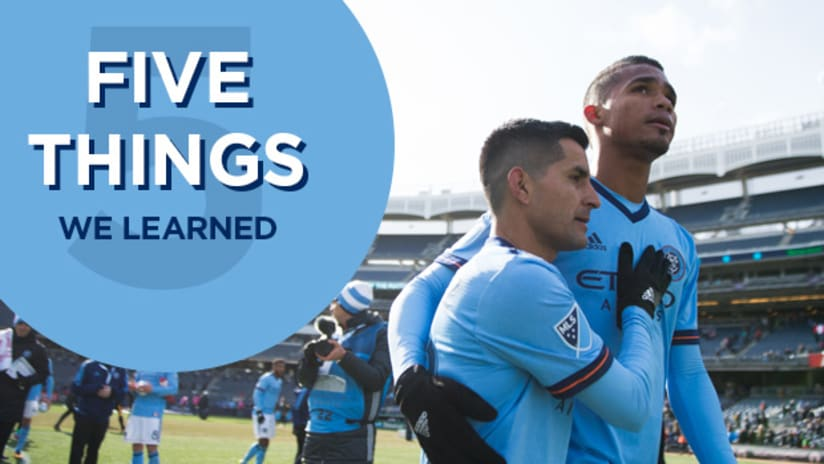 Five Things DC United